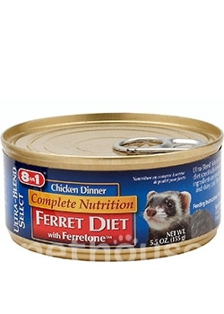 8in1 Complete Nutrition Ferret Diet Chicken Dinner, фото