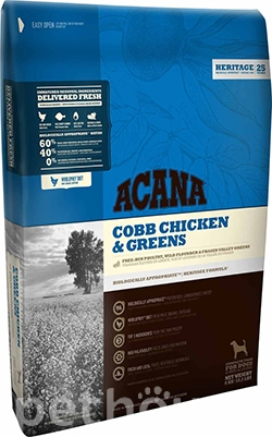 Acana Cobb Chicken & Greens 29/17, фото