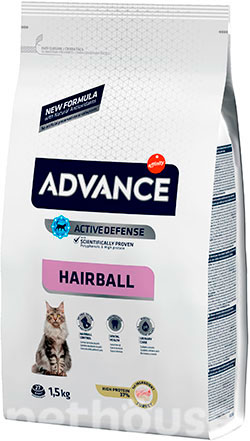 Advance Cat Hairball Turkey & Rice, фото