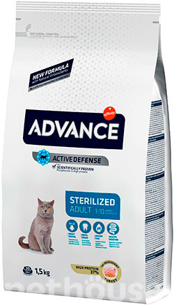 Advance Cat Sterilized Turkey & Barley, фото