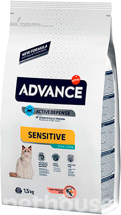 Advance Cat Sterilized Sensitive Salmon, фото