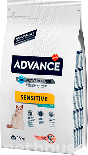 Advance Cat Sterilized Sensitive Salmon, фото 2