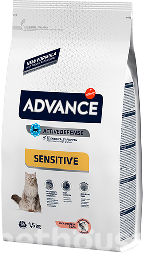 Advance Cat Sensitive Salmon & Rice, фото 2