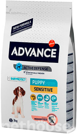 Advance Puppy Sensitive (с лососем и рисом), фото