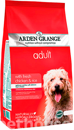 Arden Grange Adult Dog Chicken & Rice, фото