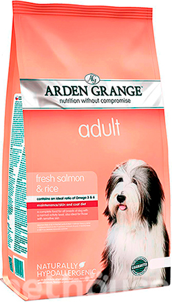 Arden Grange Adult Dog Salmon & Rice, фото