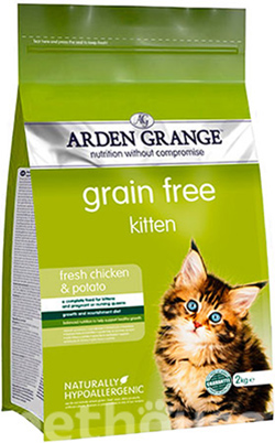 Arden Grange Kitten Fresh Chicken & Potato, фото