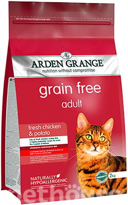 Arden Grange Adult Cat Fresh Chicken & Potato, фото