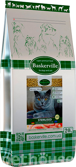 Baskerville Sterilised Cat, фото