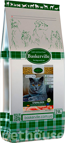 Baskerville Sterilised Cat, фото 2