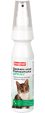 Beaphar Spot on spray натуральный спрей от блох для кошек, фото