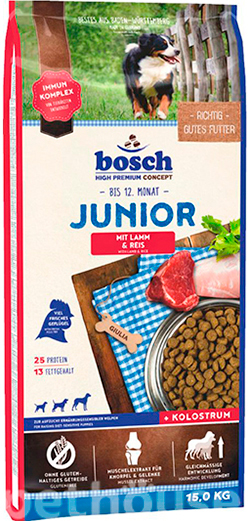 Bosch Junior Lamb and Rice, фото