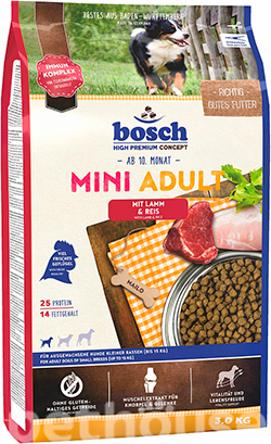 Bosch Mini Adult Lamb and Rice, фото