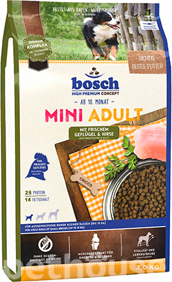 Bosch Mini Adult Poultry and Millet, фото