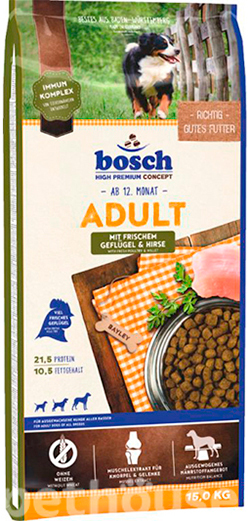 Bosch Adult Poultry and Millet, фото