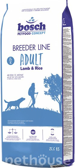 Bosch Breeder Line Lamb & Rice, фото