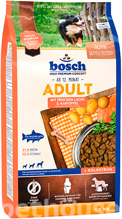 Bosch Adult Salmon and Potato, фото