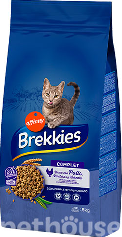 Brekkies Cat Complet, фото