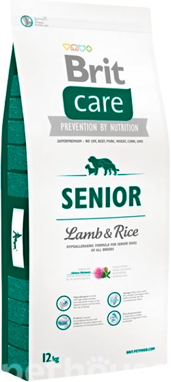 Brit Care Senior lamb and Rice, фото