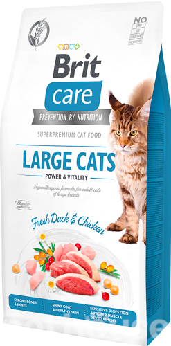 Brit Care Cat Grain Free Large Cats Power & Vitality