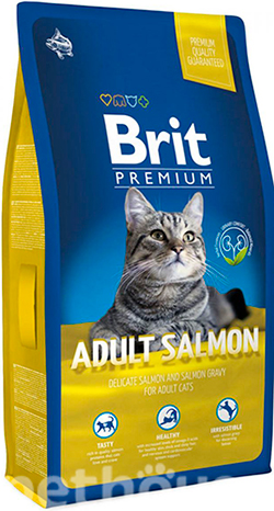 Brit Premium Cat Adult Salmon, фото