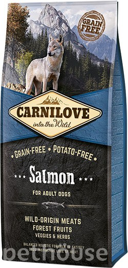 Carnilove Dog Adult Salmon, фото