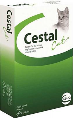 Ceva Цестал Кэт Таблетки от глистов для кошек средства от глистов ...