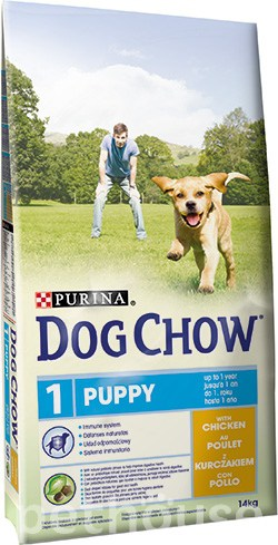 Dog Chow Puppy Chicken, фото