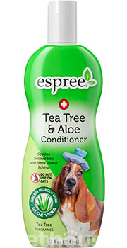 Espree Tea Tree & Aloe Conditioner - терапевтический кондиционер для собак, фото