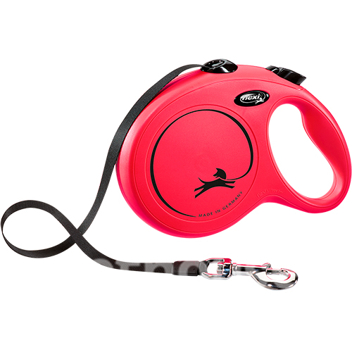 Flexi New Classic L - поводок-рулетка для собак до 50 кг, лента, 8 м рулетки для собак купить в Киеве, цена - 860 грн в Украине | Pethouse.ua