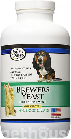 Four Paws Brewers Yeast with Garlic Flavour, фото