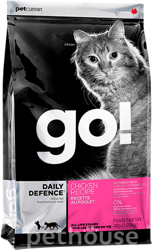 GO! Natural Daily Defence Chicken Cat Recipe, фото 2