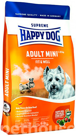 Happy dog Supreme Fit&Well Adult Mini, фото