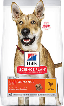 Hill's SP Canine Performance Chicken, фото