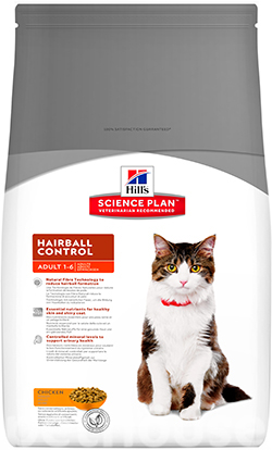 Hill's SP Feline Adult Hairball Chicken, фото