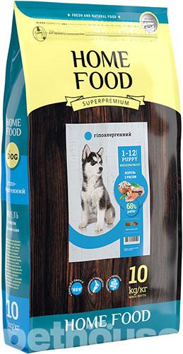 Home Food с форелью, рисом и овощами для щенков средних и крупных пород сухой корм для собак купить в Киеве, цена - 200 грн в Украине   Pethouse.ua