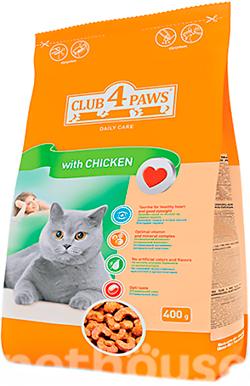 Клуб 4 лапы Куриное филе для взрослых кошек сухой корм для кошек ... 10f95c322f904