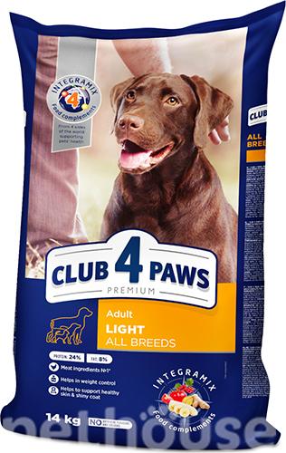 Клуб 4 лапы Premium Light для собак всех пород сухой корм для собак купить в Киеве, цена - 875 грн в Украине | Pethouse.ua