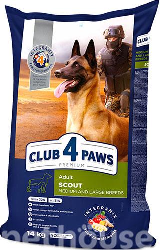 Клуб 4 лапы Premium Scout для взрослых собак средних и крупных пород сухой корм для собак купить в Киеве, цена - 506 грн в Украине   Pethouse.ua