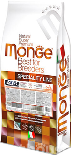 Monge Speciality Line Puppy & Junior All Breeds Salmon and Rice, фото 2