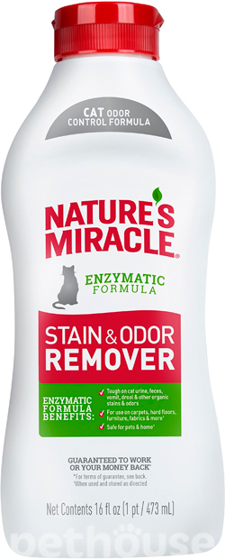 Nature's Miracle Just for Cats Stain & Odor Remover , фото