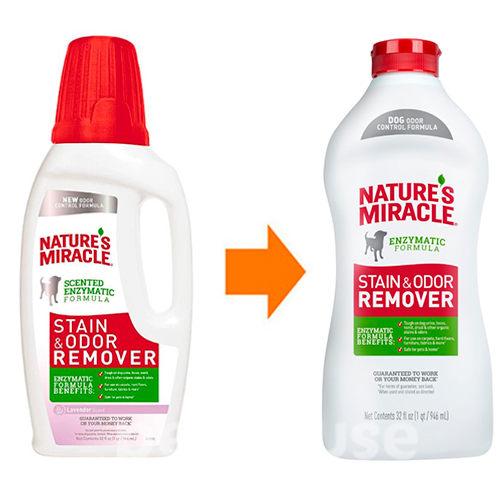 Nature's Miracle Dog Stain & Odor Remover, раствор, фото 3