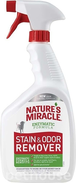 Nature's Miracle Stain & Odor Remover, Spray, фото