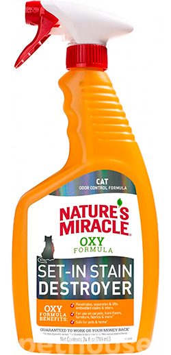 Nature's Miracle Just for Cats Orange Oxy Trigger, Spray , фото
