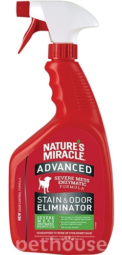 Nature's Miracle Advanced Dog Stain and Odor Eliminator, спрей, фото
