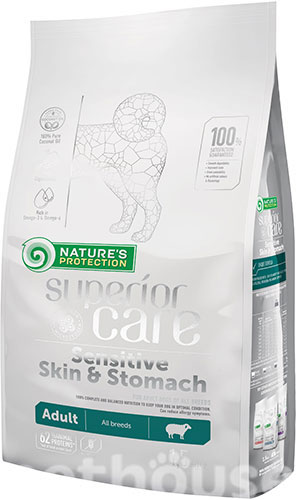 Nature's Protection Superior Care Sensitive Skin & Stomach Lamb Adult All Breeds