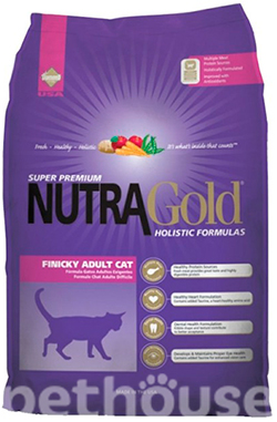 Nutra Gold Cat Adult Finicky , фото