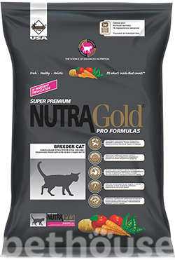 Nutra Gold Breeder Cat, фото