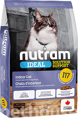 Nutram I17 Ideal Solution Support Indoor Cat, фото