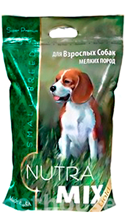 Nutra Mix Gold Adult Small Breed Chicken & Rice, фото